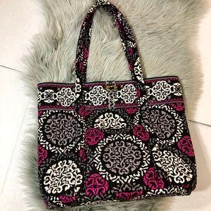 Vera Bradley Bags - Vera Bradley Canterberry Magenta large tote bag